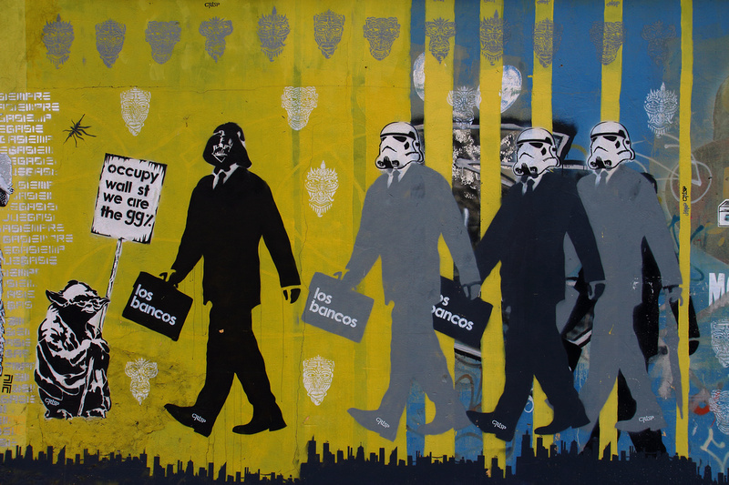 Fantastic Occupy Wall Street Art Picture Collection - Wall Art ...